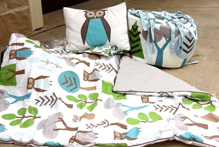 Dwell Studio Owl Bedding Sale