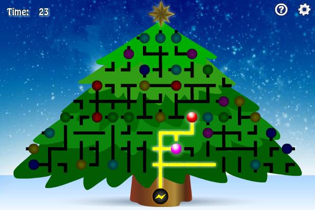 christmas tree light up - Abcya Christmas Lights