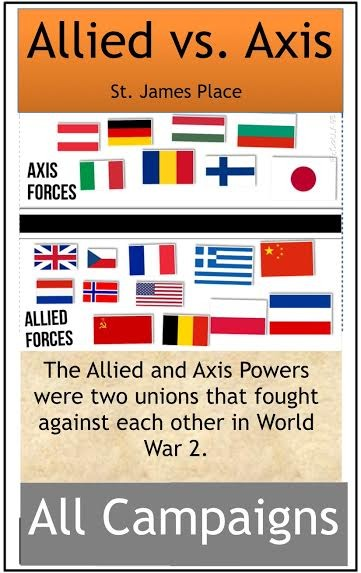COUNTRIES ALIGN FOR WAR