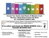 Meadow Creek PTA is ready for the HEB Distric Book Swap