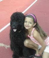 Old picture of me with my dog