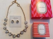 Earrings and Necklace set $50