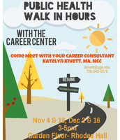 Public Health Walk-in Hours