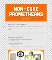 Non-Core Prometheans
