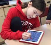 Showing Math Work - Draw Activity