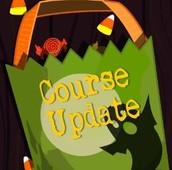 Course updates