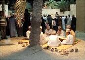 Tussen en met de Omanis