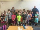 Mr. Howland and his awesome class.
