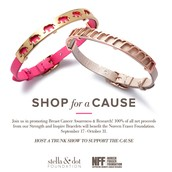 2 Newest Breast Cancer Bracelets!