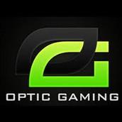 Dyma logo un o'r timau or enw OpTic
