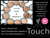 Touch Cream Foundation & Pressed Powder Foundation