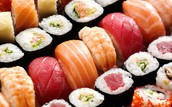 Het onderzoek naar verschillend soorten rijst die gebruikt kunnen worden voor sushi