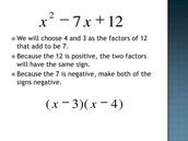 Factoring Simple Trinomials
