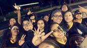 A picture with the jv soccer team