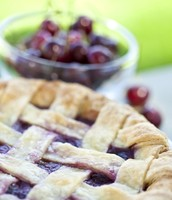 Use local, organic or frozen fruit in your pie~