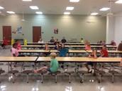 Getting ready for Kinderbuddies!