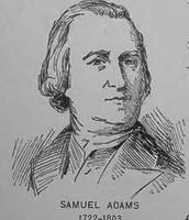 Samuel Adams Timeline before the War