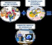 PARTICIPANTES DEL APRENDIZAJE COMBINADO (B-LEARNING)