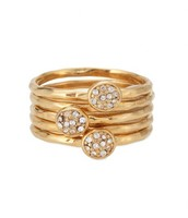 Paloma stacking rings size 8/P to Q*