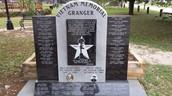 Vietnam Memorial in Granger Park