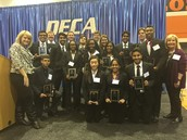DECA Competitors go to STATE!