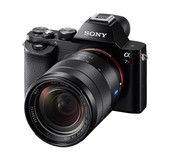 2013, Sony invents the first full mirror-less camera.