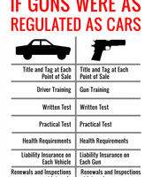Who can Drive and Who can own guns?
