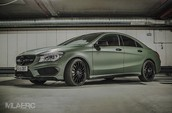 Mercedes CLA 45 AMG Ready for Combat!