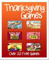 Thanksgiving Games (K-6)