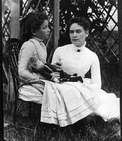 Helen Keller and Anne Sullivan