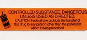 5 of many diffrent controlled substances