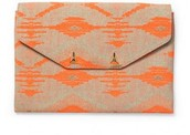 City Slim Clutch, Aztec Coral
