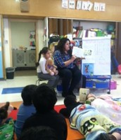 Ms. Bosmediano reads Courderoy