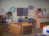 Room inside Discovery Center