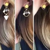 Pavilion 3 in 1 earrings
