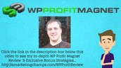 WP Profit Magnet Review - Why You Ought To Purchase