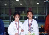 She start figure skating at 7 years old(1996)