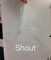 Initial Color of Shout