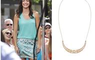 Avalon Crescent Necklace