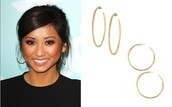 Signature Hoop Gold