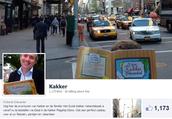 Volg de avonturen van Kakker en de familie via Facebook: