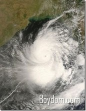 6) 1839 India cyclone