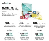 Sign up for as little as $199 and receive $450 In free product
