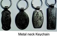 Metal neck key chains