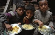 Children around the world are hungry