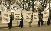 Protest for Women's Suffrage