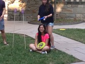 Fricket Game on the Lawn