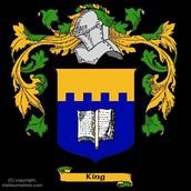 Irish King crest