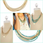 ISA DISC NECKLACE - $118