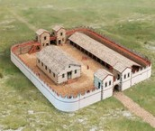 Here is what a Roman soldier would have stayed in.